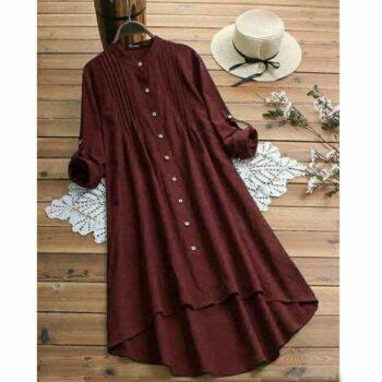 Elegant Rayon Solid Kurti for Women