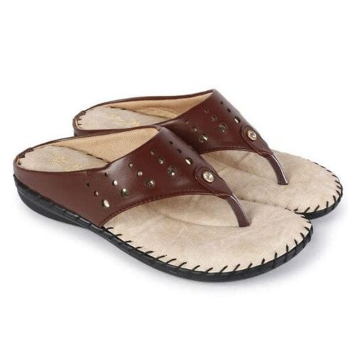 Embroidery Flat Sandal for Women