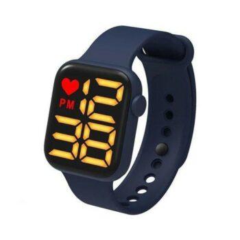 Fashion Silicone LED Dial Digital Unisex Watch