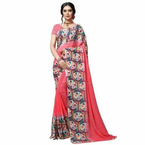 Gorgeous Georgette Printed Saree