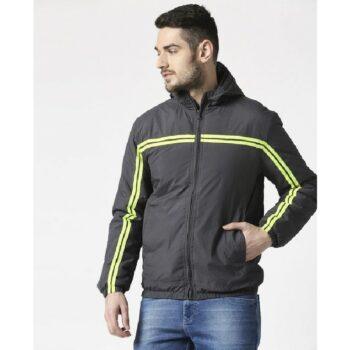 Grey Neon Strip Jacket