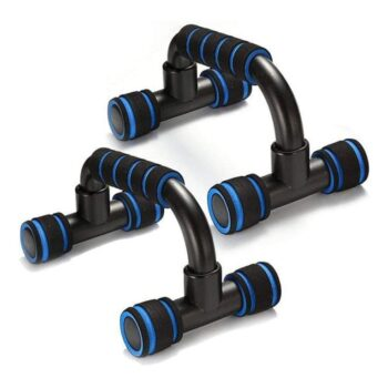 Gym Utility - Push Up Bars Stand with Foam Grip Handle Home Gym Fitness Exercise