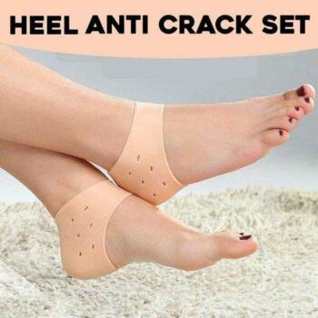 Heel Pad - Anti-Crack Silicone Gel Heel Pad For Men and Women