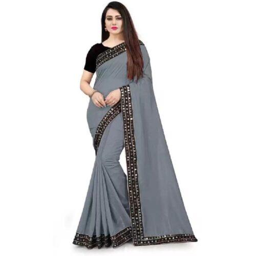 JSItaliya Solid Fashion Pure Silk Saree 12