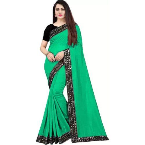 JSItaliya Solid Fashion Pure Silk Saree 14