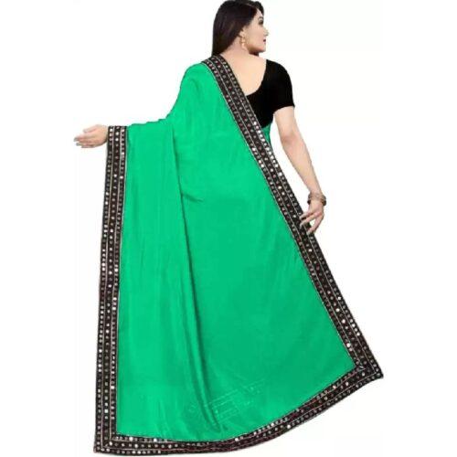 JSItaliya Solid Fashion Pure Silk Saree 15