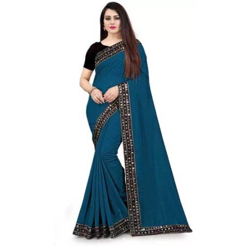 JSItaliya Solid Fashion Pure Silk Saree 17