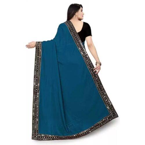JSItaliya Solid Fashion Pure Silk Saree 18