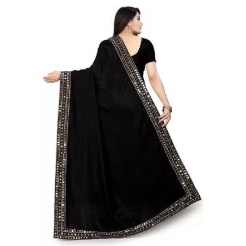 JSItaliya Solid Fashion Pure Silk Saree 2