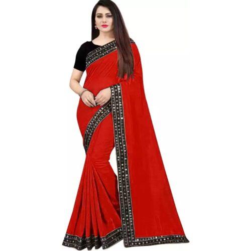 JSItaliya Solid Fashion Pure Silk Saree 20