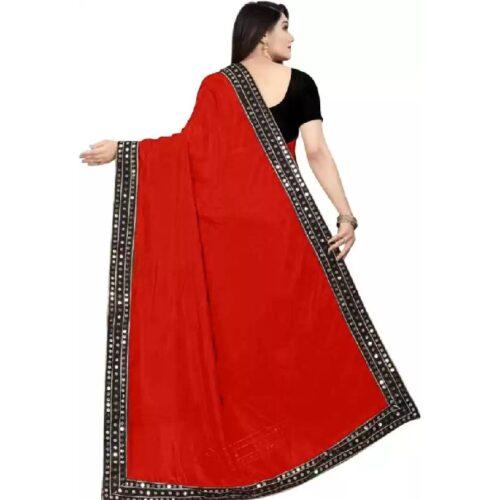JSItaliya Solid Fashion Pure Silk Saree 21