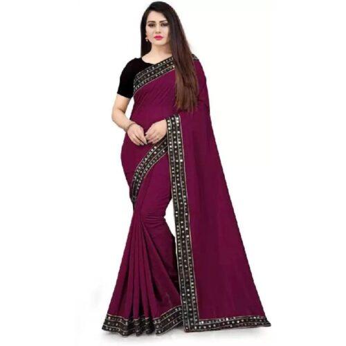 JSItaliya Solid Fashion Pure Silk Saree 23