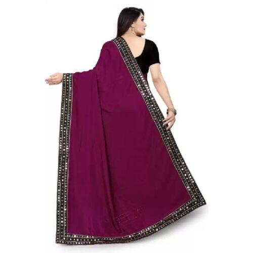 JSItaliya Solid Fashion Pure Silk Saree 24