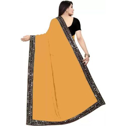 JSItaliya Solid Fashion Pure Silk Saree 27