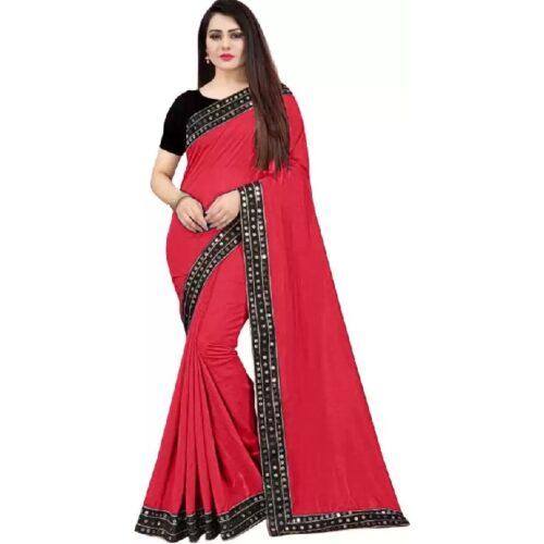JSItaliya Solid Fashion Pure Silk Saree 29