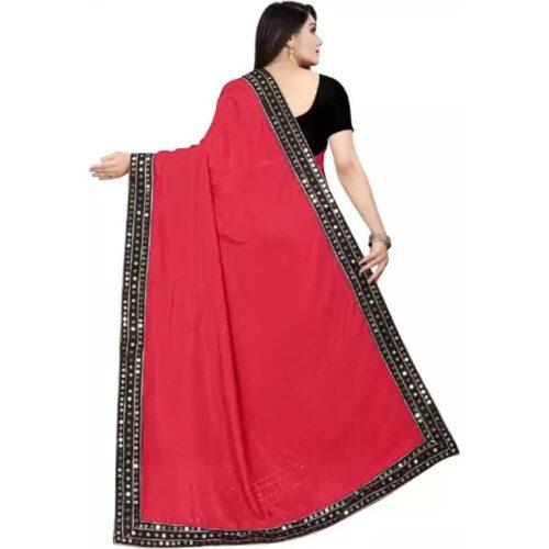 JSItaliya Solid Fashion Pure Silk Saree 30