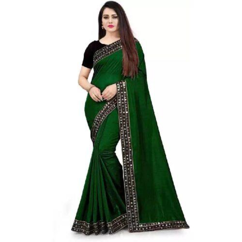 JSItaliya Solid Fashion Pure Silk Saree 5