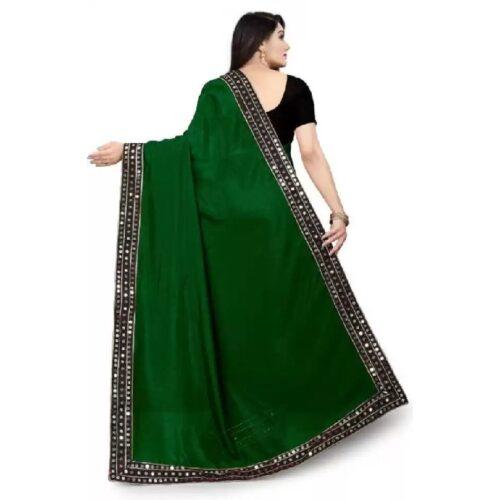JSItaliya Solid Fashion Pure Silk Saree 6