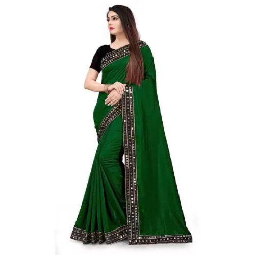JSItaliya Solid Fashion Pure Silk Saree 7