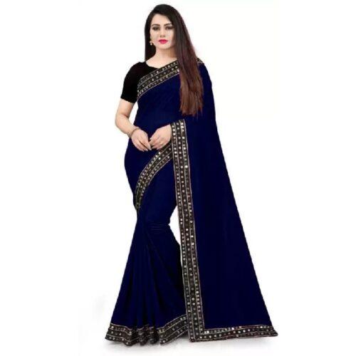 JSItaliya Solid Fashion Pure Silk Saree 9