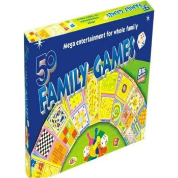 50 Family Games - Kids Board Game