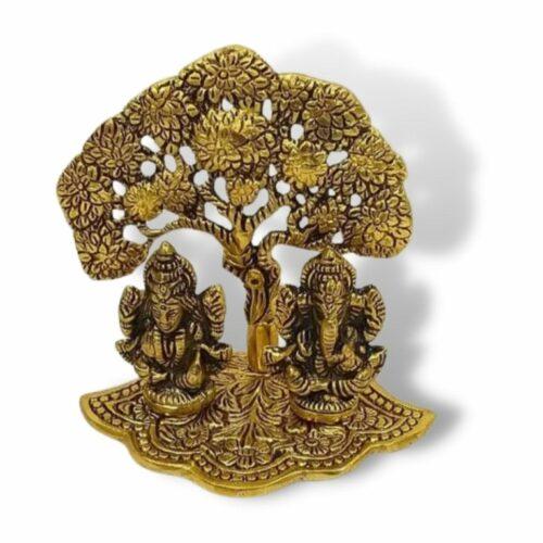 Lakshmi Ganesh Tree Statue Sculpture Showpiece