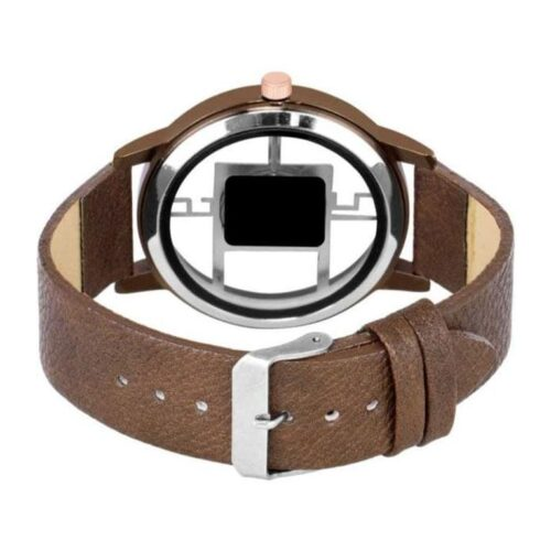 Leather Stylish Watch for Men 5