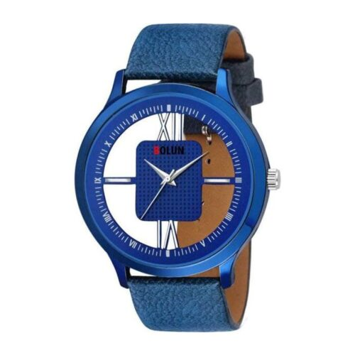 Leather Stylish Watch for Men