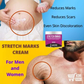 Luster Cosmetics Stretch Marks Cream (Reduces Marks & Scars) -100g