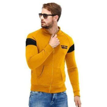 Maniac Cotton Stripes Full Sleeves Jacket for Men