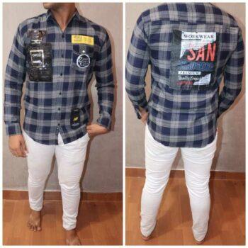 Men's Cotton Checkered Regular Fit Shirt