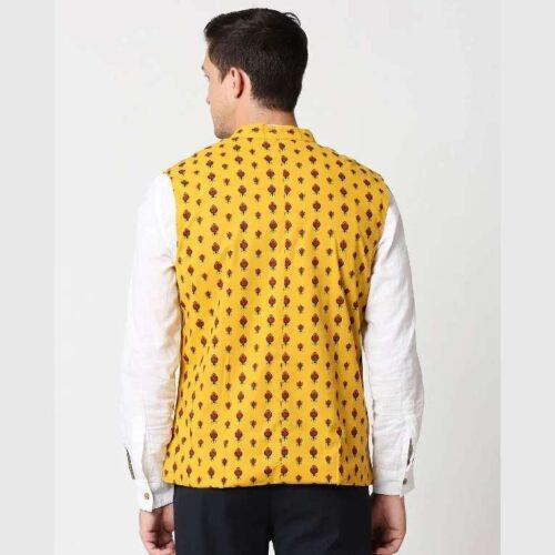 Mens Printed Waistcoat 1