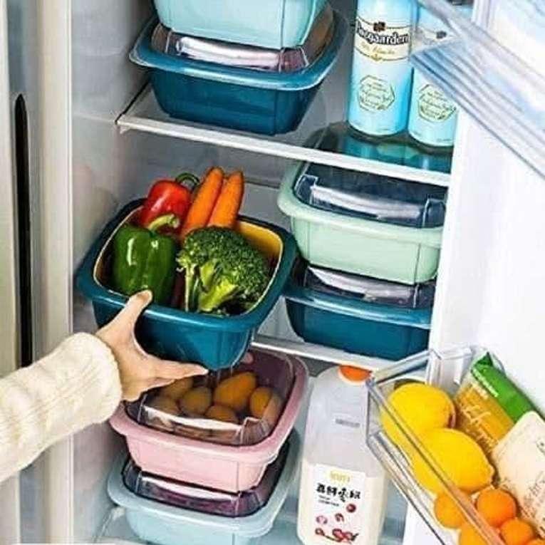 Multifunctional Washing Vegetable and Fruit Draing Basket Strainer 2