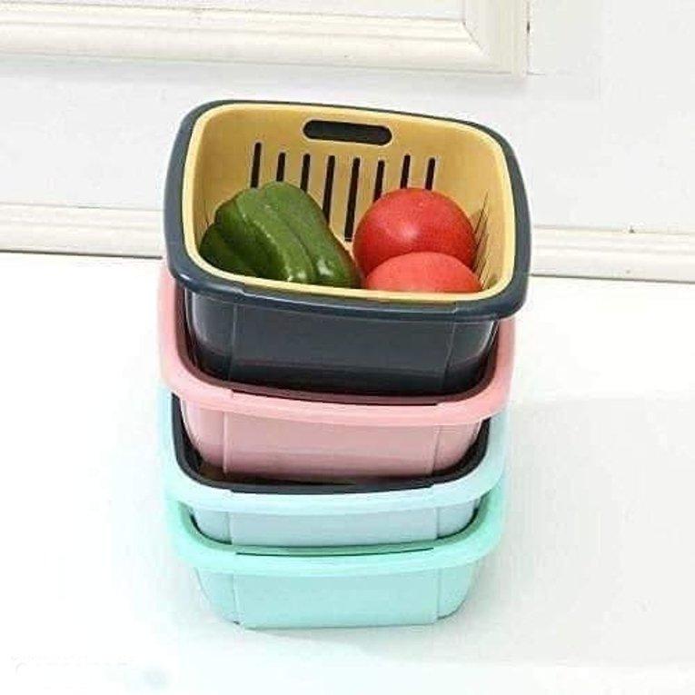 Multifunctional Washing Vegetable and Fruit Draing Basket Strainer 6
