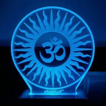 OM LED 3D Illusion Night Lamp