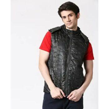Olive Camo Puffer Jacket
