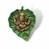 Pan Leaf Ganesh Ji Statue Showpiece