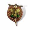Pan Leaf Ganesh Ji Statue Showpiece - Attractive Showpiece For Home Decor