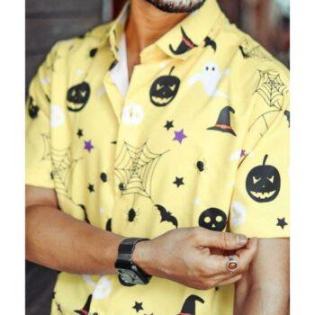 Poly Cotton Printed Half Sleeves Regular Fit Mens Casual Shirt
