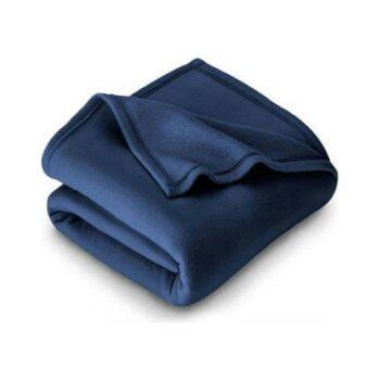 Polyester Fleece Double Bed Blanket