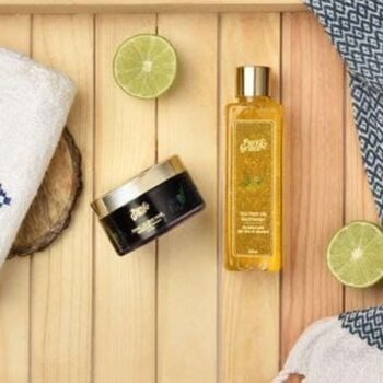Pure & Grace Skin Brightening : Face Wash and Face Mask Kit