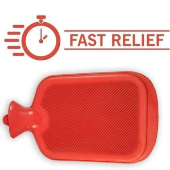 Rubber Hot Water Heating Pad Bag for Pain Relief