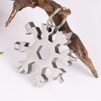Screwdriver Tool-18 in 1 Multi-Purpose Snowflake Shaped Stainless Steel Screwdriver Tool