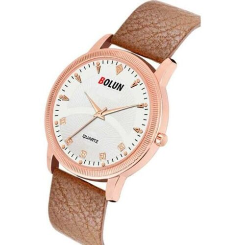 Semi Formal Leather Watch for Men