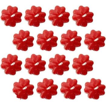 Small Floating Flower Scented Smokeless Candle (Pack of 32)