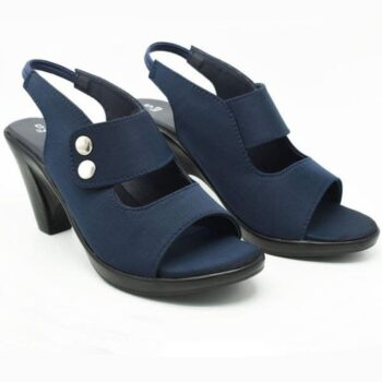 Solid Casual Heels for Women