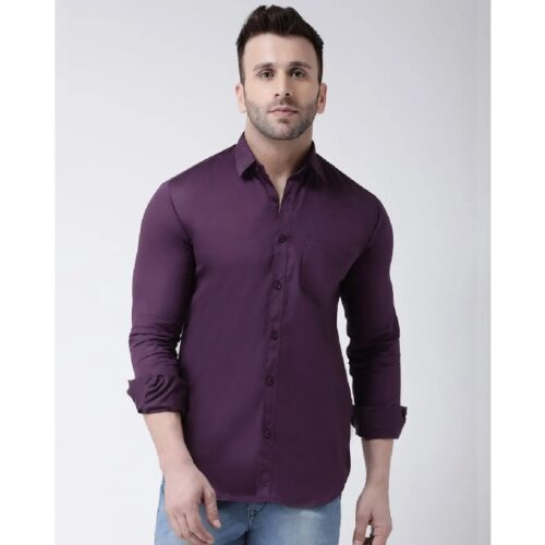 Solid Casual Shirt