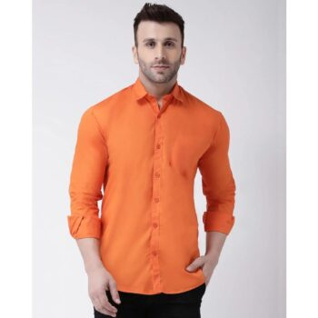 Solid-Casual-Shirt