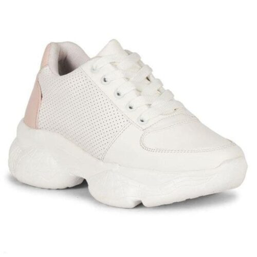 Solid PVC Sport Shoes for Women 24