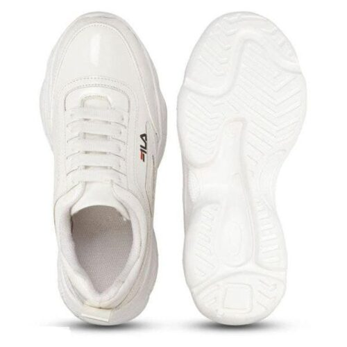 Solid PVC Sport Shoes for Women 27